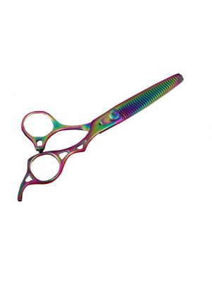 SLICER™ Titanium Coated Rainbow Thinning Shear - OUT OF STOCK