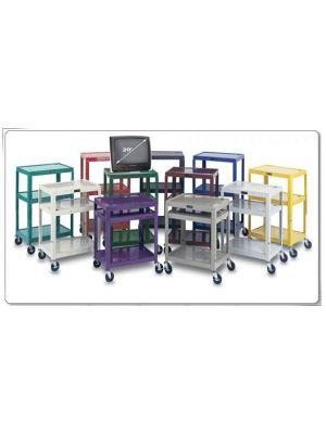 Color Metal Salon Carts