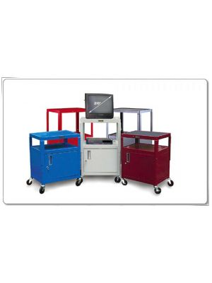Salon Carts with Cabinets