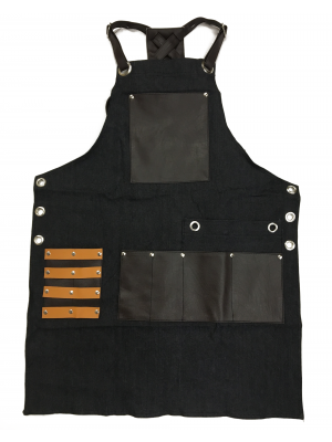 DR Apron with Leather Pockets