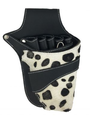 Leather and Fur Shear Holster - Dalmatian
