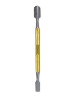 CUTICLE PUSHER 4 - Gold and Silver